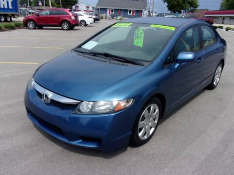 2010 Honda Civic for sale at Ideal Auto Sales, Inc. in Waukesha WI