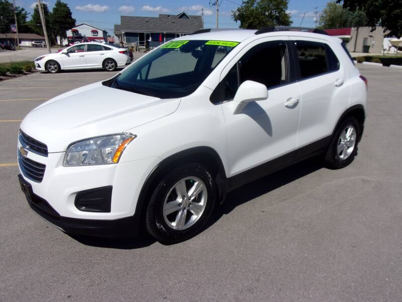 2015 Chevrolet Trax for sale at Ideal Auto Sales, Inc. in Waukesha WI