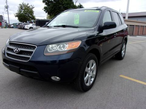 2007 Hyundai Santa Fe for sale at Ideal Auto Sales, Inc. in Waukesha WI