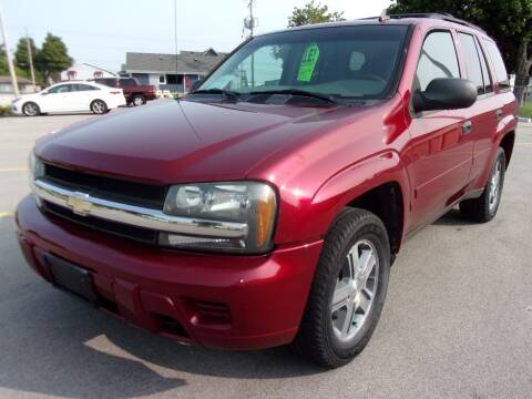 2006 Chevrolet TrailBlazer for sale at Ideal Auto Sales, Inc. in Waukesha WI