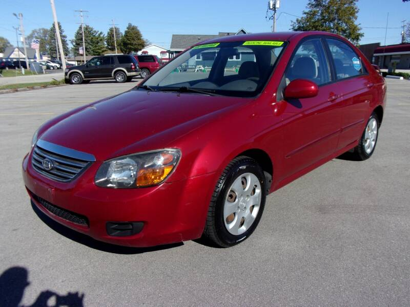 2009 Kia Spectra for sale at Ideal Auto Sales, Inc. in Waukesha WI
