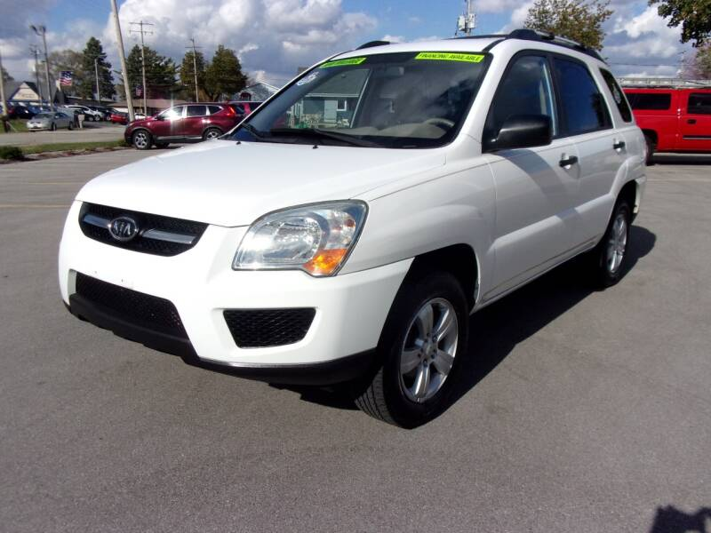 2009 Kia Sportage for sale at Ideal Auto Sales, Inc. in Waukesha WI