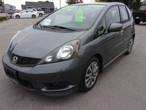 2013 Honda Fit for sale at Ideal Auto Sales, Inc. in Waukesha WI
