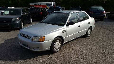 2002 Hyundai Accent for sale in Ona, WV