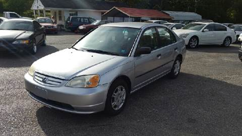 2002 Honda Civic for sale in Ona, WV