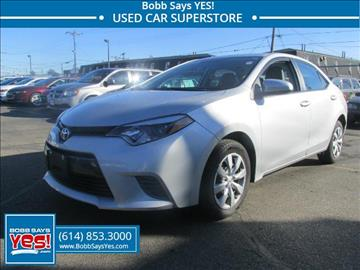 2015 Toyota Corolla for sale in Columbus, OH