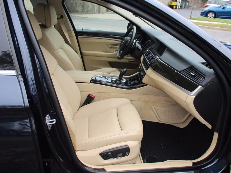 2015 BMW 5 Series 550i 4dr Sedan - Orange NJ