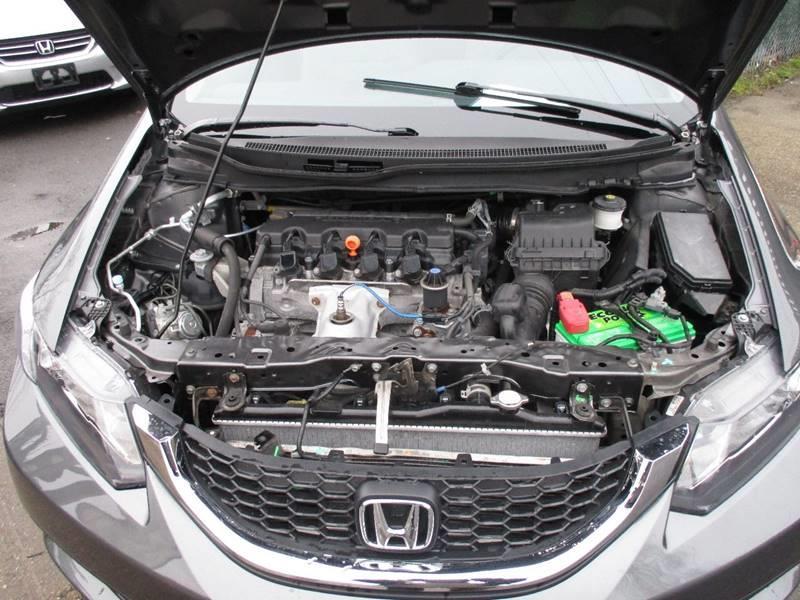 2013 Honda Civic EX 4dr Sedan - Orange NJ