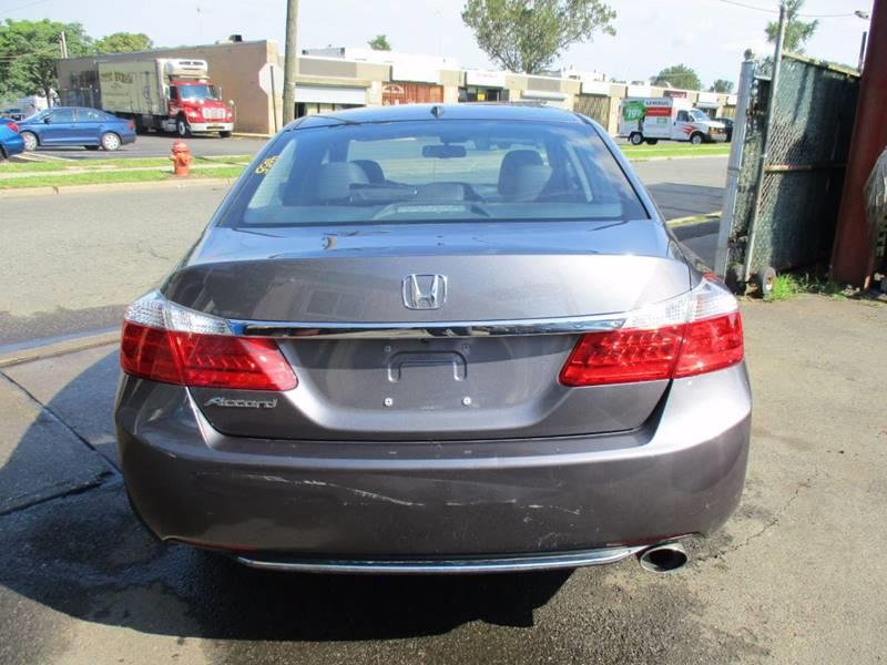 2014 Honda Accord EX-L 4dr Sedan - Orange NJ