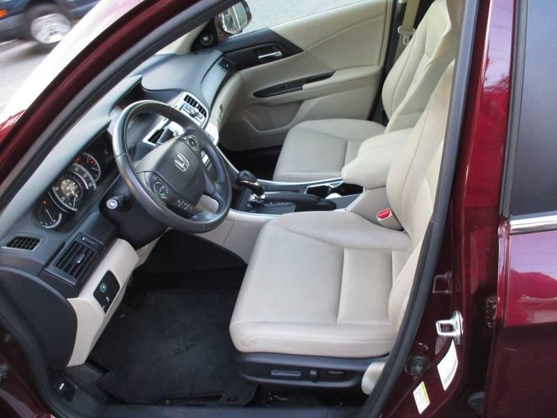 2014 Honda Accord EX-L 4dr Sedan - Orange NJ