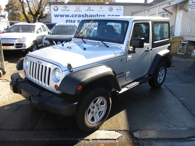 2012 Jeep Wrangler 4x4 Sport 2dr SUV - Orange NJ