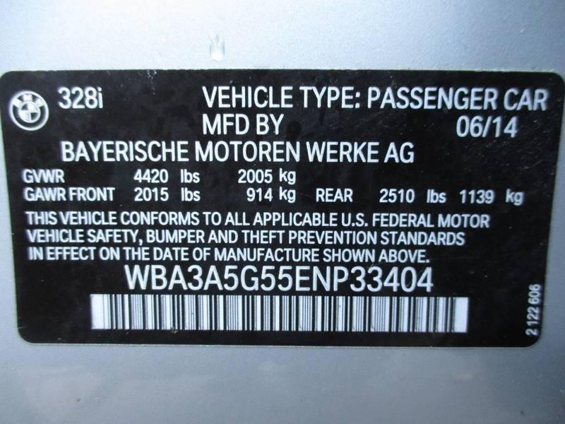 2014 BMW 3 Series 328i 4dr Sedan SA - Orange NJ