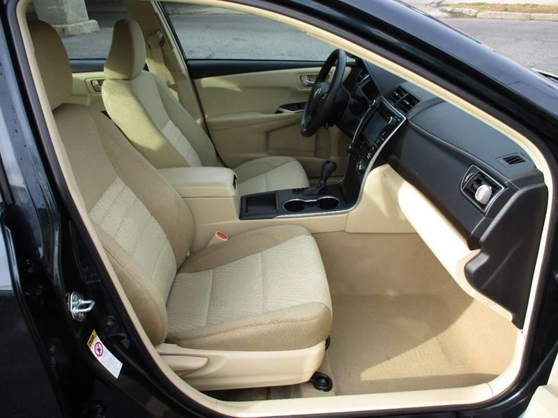 2016 Toyota Camry LE 4dr Sedan - Orange NJ