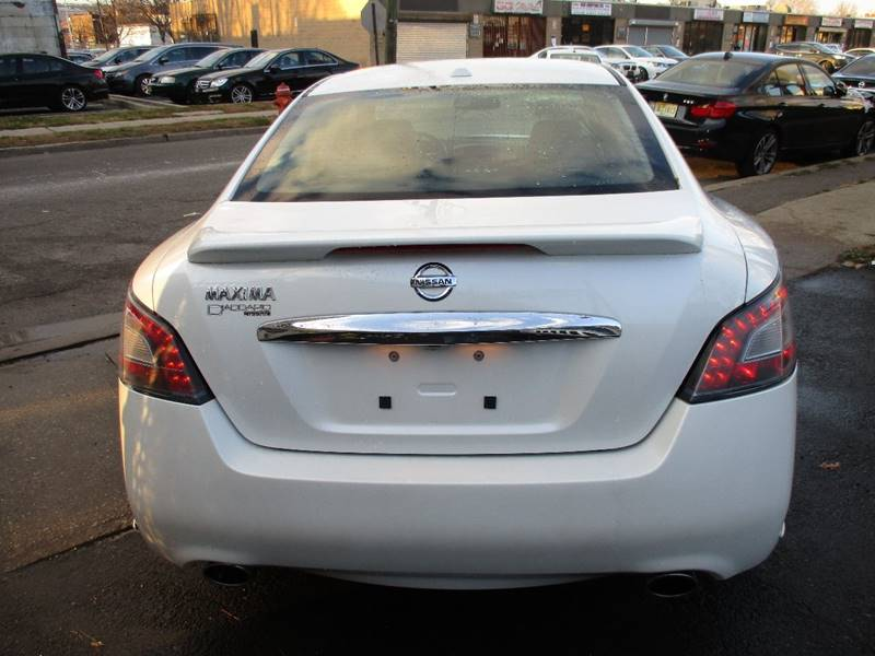 2014 Nissan Maxima 3.5 SV 4dr Sedan - Orange NJ