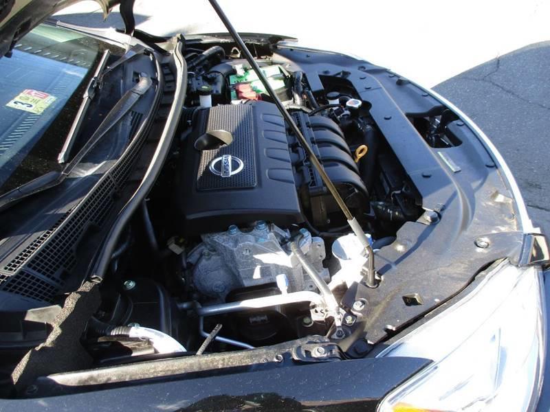 2015 Nissan Sentra S 4dr Sedan CVT - Orange NJ