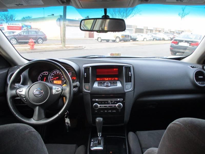 2011 Nissan Maxima 3.5 S 4dr Sedan - Orange NJ
