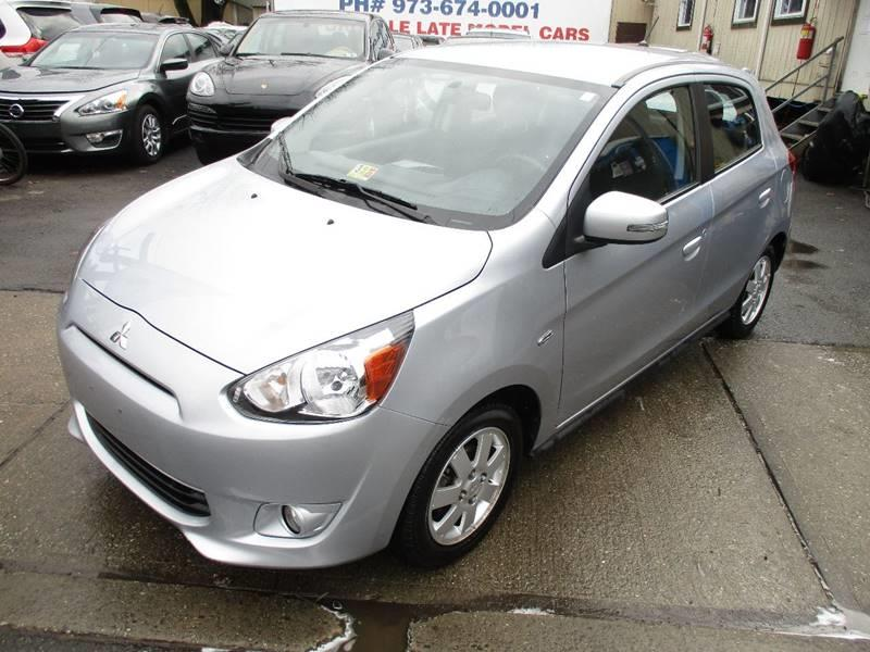 2015 Mitsubishi Mirage ES 4dr Hatchback CVT - Orange NJ
