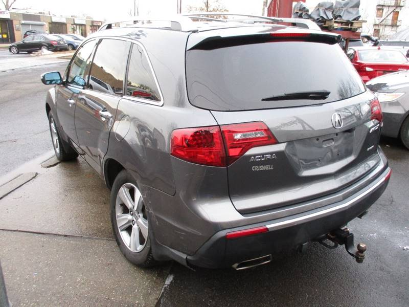 2012 Acura MDX SH-AWD 4dr SUV w/Technology and Entertainment Package - Orange NJ