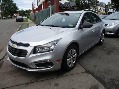 2015 Chevrolet Cruze for sale in Orange, NJ
