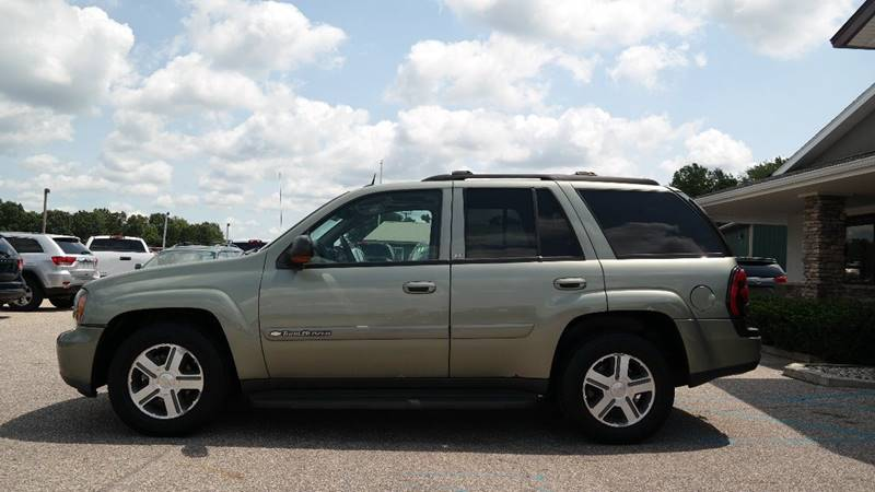 2004 Chevrolet TrailBlazer for sale at Hekhuis Motorsports in Rockford MI