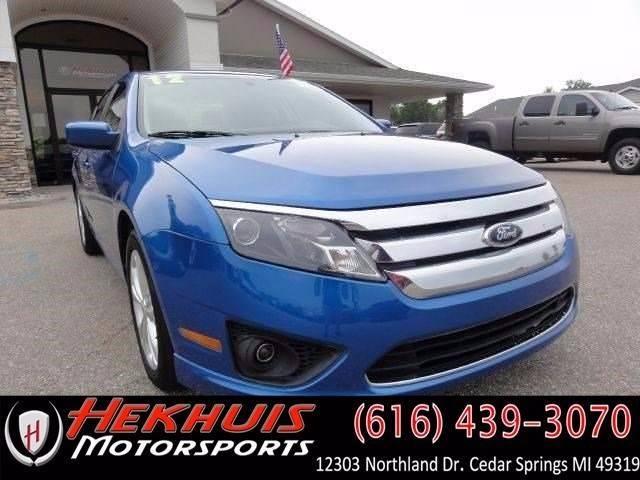 2012 Ford Fusion for sale at Hekhuis Motorsports of Cedar Springs in Cedar Springs MI