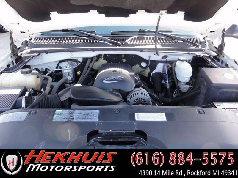 2003 Chevrolet Silverado 2500HD for sale at Hekhuis Motorsports in Rockford MI