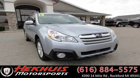 2013 Subaru Outback for sale at Hekhuis Motorsports in Rockford MI