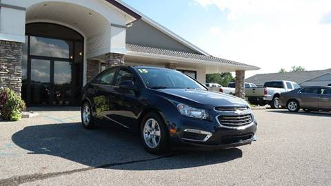 2015 Chevrolet Cruze for sale at Hekhuis Motorsports in Rockford MI