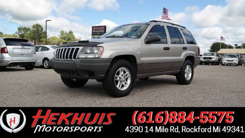 2003 Jeep Grand Cherokee For Sale At Hekhuis Motorsports In Rockford MI