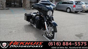 2015 Harley-Davidson STREET GLIDE CVO for sale at Hekhuis Motorsports in Rockford MI