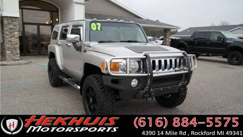 2007 HUMMER H3 for sale at Hekhuis Motorsports in Rockford MI