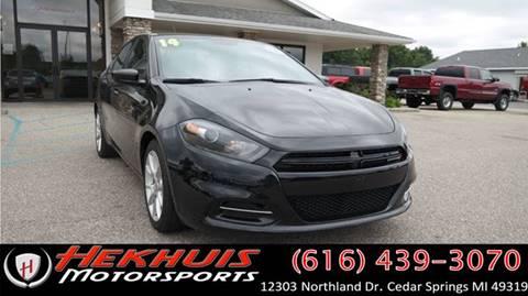 2014 Dodge Dart for sale at Hekhuis Motorsports of Cedar Springs in Cedar Springs MI