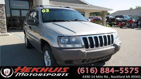 2003 Jeep Grand Cherokee for sale in Rockford, MI