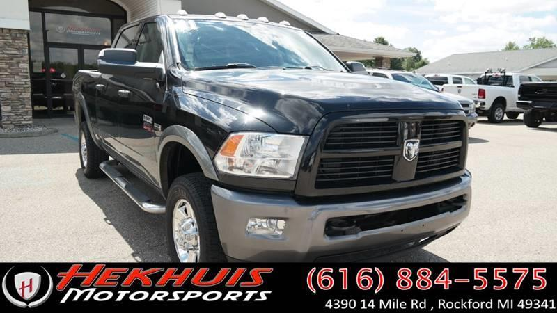 2011 RAM Ram Pickup 2500 for sale at Hekhuis Motorsports in Rockford MI