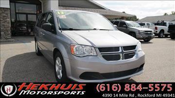 2013 Dodge Grand Caravan for sale at Hekhuis Motorsports of Cedar Springs in Cedar Springs MI