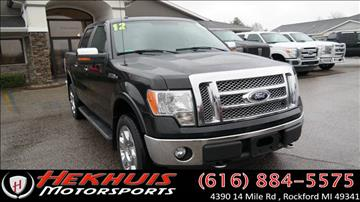 2012 Ford F-150 for sale at Hekhuis Motorsports in Rockford MI