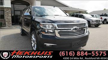 2016 Chevrolet Suburban for sale at Hekhuis Motorsports in Rockford MI