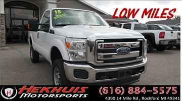 2015 Ford F-250 Super Duty for sale at Hekhuis Motorsports in Rockford MI