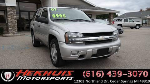 2007 Chevrolet TrailBlazer for sale at Hekhuis Motorsports of Cedar Springs in Cedar Springs MI