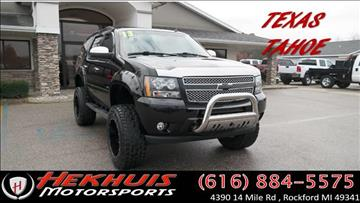 2013 Chevrolet Tahoe for sale at Hekhuis Motorsports in Rockford MI