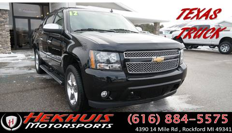 2012 Chevrolet Avalanche for sale at Hekhuis Motorsports in Rockford MI