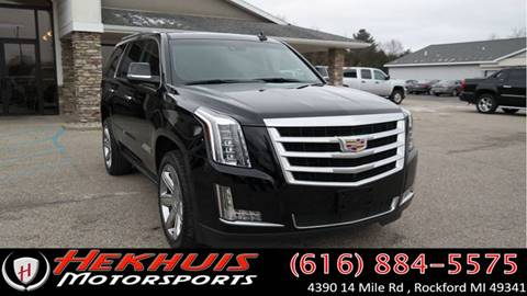 2015 Cadillac Escalade for sale at Hekhuis Motorsports in Rockford MI