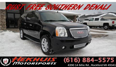 2010 GMC Yukon XL for sale at Hekhuis Motorsports in Rockford MI