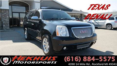 2007 GMC Yukon for sale at Hekhuis Motorsports in Rockford MI