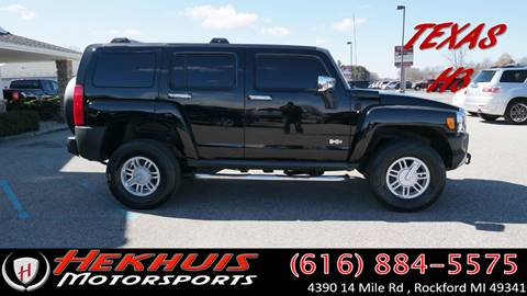 2008 HUMMER H3 for sale at Hekhuis Motorsports of Cedar Springs in Cedar Springs MI
