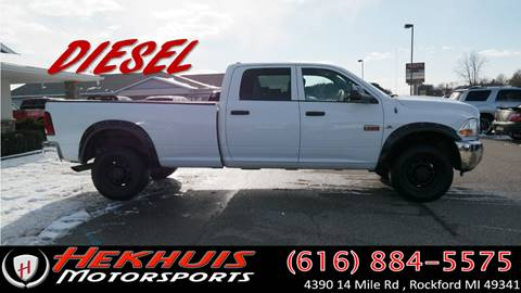 2012 RAM Ram Pickup 2500 for sale at Hekhuis Motorsports in Rockford MI
