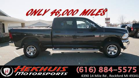 2010 Dodge Ram Pickup 2500 for sale at Hekhuis Motorsports in Rockford MI