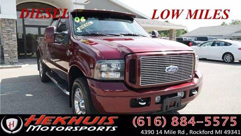 2006 Ford F-350 Super Duty for sale at Hekhuis Motorsports in Rockford MI