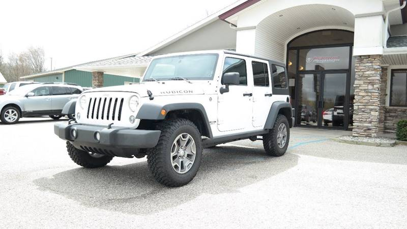 2016 Jeep Wrangler Unlimited for sale at Hekhuis Motorsports in Rockford MI