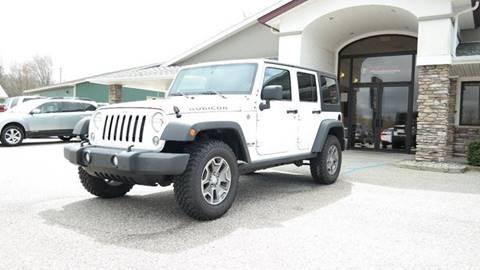 2016 Jeep Wrangler Unlimited for sale in Rockford, MI